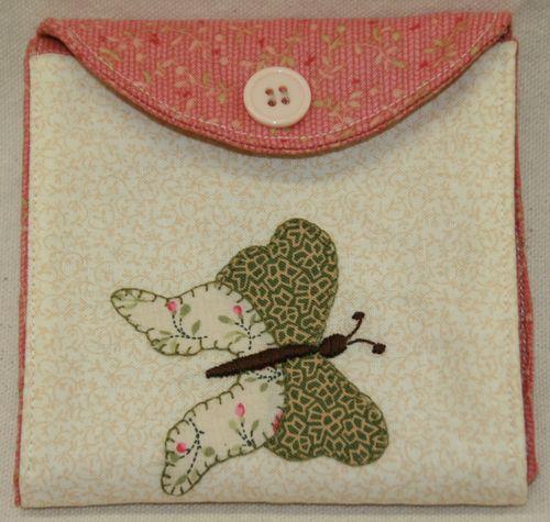 Butterfly needlekeep